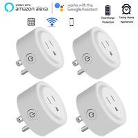 Mini Smart Plug Outlet Wifi Socket Alexa Google Assistant IFTTT fr Voice Control