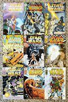 Dark Horse Comics STAR WARS CLASSICS The Early Adventures Complete Set 1-9 Nice