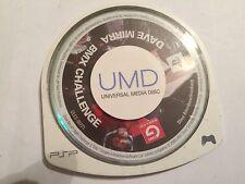 SONY PSP PORTABLE PLAYSTATION GAME Jeu UMD seul Dave Mirra BMX Challenge