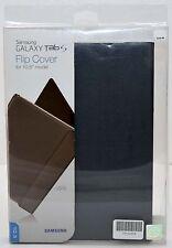 "NEW GENUINE Samsung Galaxy Tab S 10.5"" Gray/Black Clip-on Slim Flip Cover Case"