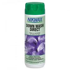 Nikwax bas wash direct pour down filled vêtements water repellency 300ml
