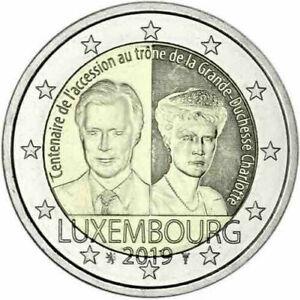 2 Euro LUXEMBOURG 2019 - Charlotte  >  UNC  Non circulée