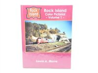 RI Rock Island Color Pictorial Volume 1 by Louis A. Marre ©1994 HC Book