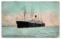 SS Minnesota Steamship, Oriental Liner, Seattle Postcard *225