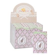 1 sachet d'armoire parfumé senteur rose motif chat et fleurs Clayre & eef