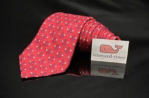 Vineyard Vines Boys Anchor Red Blue Tie