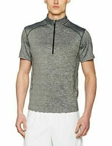 New Look Mens Grindle ss Zip Cycling Top Jersey Size XXS Grey