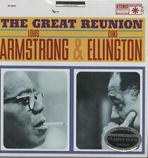 Louis Armstrong & Duke Ellington - The Great Reunion - 200g Clarity Vinyl LP NEW