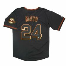 Willie Mays Auto / Autograph San Francisco Giants Jersey MAYS Hologram