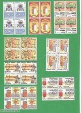 Spain Edifil 2735/42** MNH Estatutos de Autonomía  BLOQUE DE 4