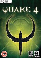 Quake 4 PC DVD Shooter Earth V Strogg Aliens Inc Manual Key C0ode