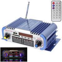 HY-601 Mini HiFi Digital FM Radio USB SD Audio MP3 Player Car Power Amplifier