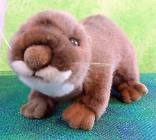 "K & M Intl 1996 OTTER PLUSH TOY Stuffed Animal 18"" Long Cute RARE HTF"