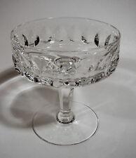 Peill & Putzler  Sektschale Serie Granada Bleikristall Glas geschliffen 60 er
