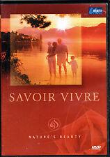 Savoir Vivre-Nature's Beauty, BRAND NEW FACTORY SEALED DVD(2005,Unlimited Media)