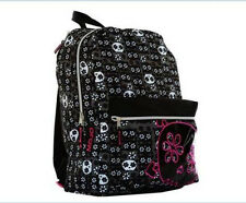 MOJO - Age 14+ Flower Skull with Tablet/IPad Compartment BACKPACK