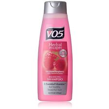 VO5 Herbal Shampoo, Sun Kissed Raspberry with Chamomile Extract 12.50 oz 8pk
