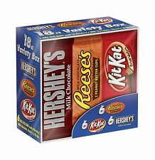 Hershey's Chocolate Variety Pack 18 Count 27.3 Ounce Box 18 Cou... Free Shipping
