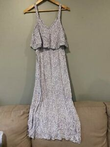 WITCHERY Strappy Maxi Dress Size 8 Casual Summer