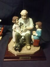Vintage Norman Rockwell Figurine; The Toy Maker