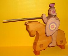 Ostheimer Flower Knights Horse Wooden Toy Movable Original Horse Knight (1)