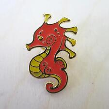 LITTLE SEAHORSE ENAMEL LIMITED EDITION PIN BY VUDUBERI