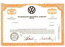 Specimen: Volkswagen  Insurance Company  ( VICO )