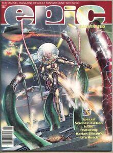 Epic Illustrated #6-1981 nm- 9.2 Marvel Magazine Neal Adams Harlan Ellison