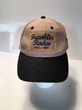Trucker Hat 50th Golden Anniversary Franklin Rodeo 1949-1999  Slide adjustable