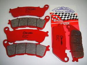 Beläge Bremse BREMBO Vorne + Hinten 07HO13SP Right Honda Crossrunner 800