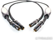 Transparent Audio Reference Series MM2 RCA Cables; 1m Pair Interconnects