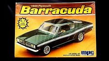Model Kit 1969 Plymouth Barracuda 2n1 Kit MPC 1:25