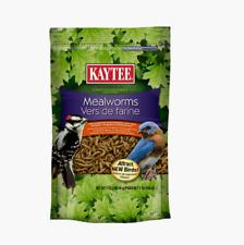 Kaytee Dried MEALWORMS 7 oz. Wild Bird Food Attract New Species Woodpecker Robin