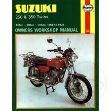 Suzuki GT 250 1975 Haynes Manual de reparación de servicio 0120