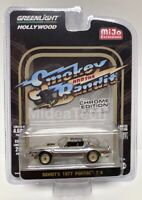 "Greenlight 1/64 ""Smokey and the Bandit"" 1977 Pontiac T/A Chrome Chase 51223"