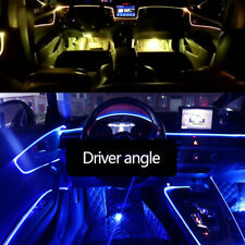 12V RGB 1IN9 5050-LED Car Atmosphere Lamp Door Dash Ambient Light Strip Kits