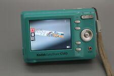 Kodak EasyShare C140 8.2MP Digital Camera - seafoam green Tested Works