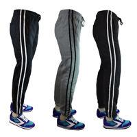 Men's Jogging Athletic Sweat Pants w/ pockets -Casual Elastic Jogger Fleece NWT