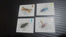 ASCENSION 1989 SG 483-486 INSECTS (3RD SERIES) MNH