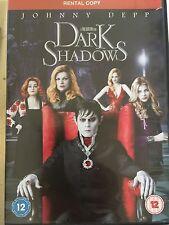 Johnny Depp Helena Bonham Carter DARK SHADOWS ~ 2012 Tim Burton Comedy | UK DVD
