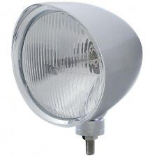 "UNITED PACIFIC 32517 - ""CHOPPER"" Headlight w/ Smooth Visor - H4 Bulb"