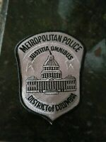 Washington DC Metropolitan Police Subdued Patch