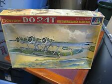 Vintage Italaerei Dornier DO24T Reconnaissance SeaPlane 1/72 122 Model Kit NIOB