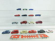 BO625-1 #17x Wiking H0 / 1:87 Camión: VW + MB +Ferrari +Mitusbishi + Audi Etc.