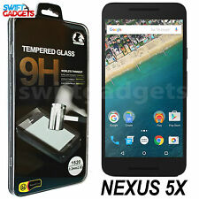 REAL TEMPERED GLASS FILM LCD SCREEN PROTECTOR GUARD FOR LG GOOGLE NEXUS 5X