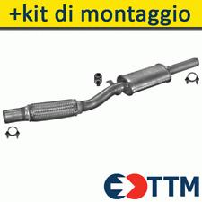 FIAT CINQUECENTO HATCHBACK 1.1 54HP 1994-1999 Silenziatore Marmitta Centrale+
