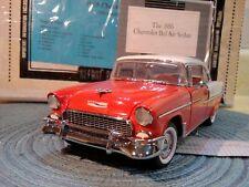 "New ListingFranklin Mint 1955 Bel Air ""Rare"" Coupe.1:24.Nib.Docs.Undis played.Beautiful"