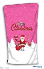 Chaussettes de Noël rose pour la maison