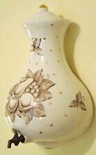 Vintage Charleton Lavabo Wall Fountain Hand Basin Holy Italian Gold Leaf Cistern