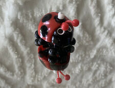 RARE VINTAGE 1977 TOMY WIND UP TOY LADYBUG WORKS!